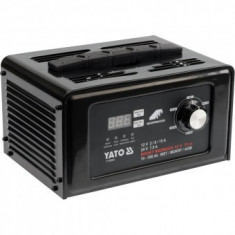 Redresor baterie auto digital cu functie boost 12V / 24V 15A, Yato YT-83051