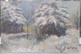 Tablou vechi- Ion Marinescu Valsan, Peisaje, Ulei, Impresionism