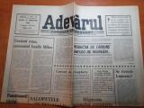 Ziarul adevarul 23 februarie 1990-articolul - vecinul meu generalul vasile milea