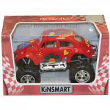 Masinuta metalica de off-road Kinsmart, Volkswagen Beetle, Rosu