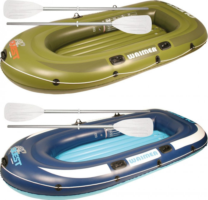 Inflatable Boat Quest verde