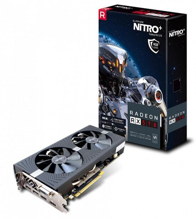 VGA SAPPHIRE RADEON RX 570 4G NITRO+