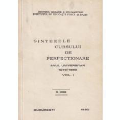 Sintezele cursului de perfectionare, anul universitar 1979/1980, vol. 1, 2