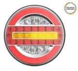 Lampa stop camion LED cu semnalizare dinamica 12-24V AL-101019-16