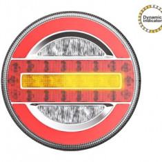 Lampa stop camion LED cu semnalizare dinamica SL-5020 12-24V