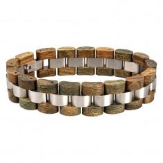 Bratara din lemn, barbati S05-4 Wooden Lux