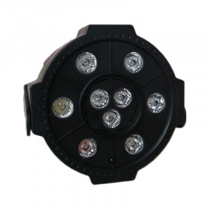 Proiector LED Par Light 3, 9 x LED, stick USB, telecomanda