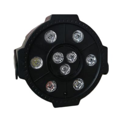 Proiector LED Par Light 3, 9 x LED, stick USB, telecomanda foto
