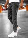 Pantaloni de trening grafit Bolf JX305