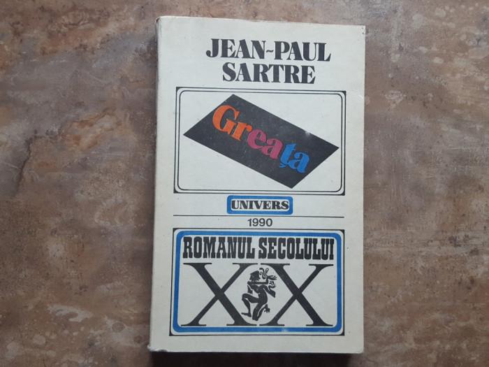 Greata - Jean Paul Sartre, 1990