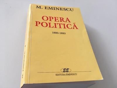 EMINESCU, OPERA POLITICA,VOL.2 REPRODUCE EDITIA 1941 INGRIJITA DE I. CRETU foto