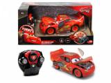 Masinuta McQueen Crazy Crash Cars 3 RC 1:24, Disney Cars