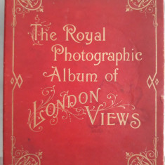 THE ROYAL PHOTOGRAPHIC ALBUM OF LONDON VIEWS (ALBUM ANTEBELIC)