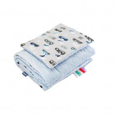 Set lenjerie de pat 2 piese pentru bebelusi Sensillo 3257-AL, Multicolor