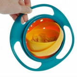 Castron rotativ, Gyro Bol continutul nu se varsa, rotatie 360 grade, Castroane