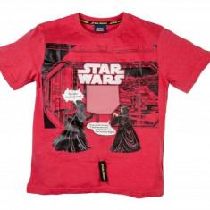 Star wars tricou jucarie maneci scurte red 7-8 ani 100% bumbac