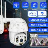 Camera Supraveghere WiFi Night Vision 1080P HD Pan Tilt Waterproof IP66 - 6