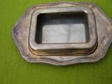 Untiera din alpaca argintata