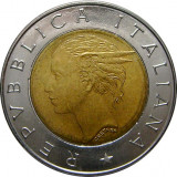Italia, 500 lire 1993 UNC_centenarul bancii italiene * cod 203, Europa, Cupru-Nichel