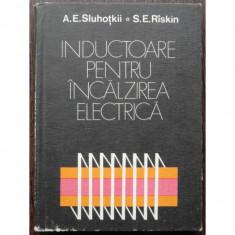 INDUCTOARE PENTRU INCALZIRE ELECTRICA A.E. Sluhotkii, S.E. Riskin 1982