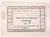 bnk div Taxa de sedere in statiune - 1981