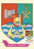 România, LP 942/1977, Stemele judeţelor (E-V), (uzuale), c.p. maximă, Tulcea