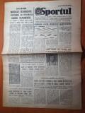 sportul 26 octombrie 1983-fotbal romania -italia,ecaterina szabo,gelu radu