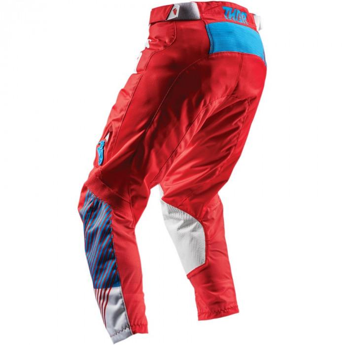 Pantalon Copii Atv/Cross Thor Pulse Geotec rosu/albastru marime 26 Cod Produs: MX_NEW 29031553PE
