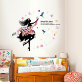 Sticker decorativ, Happy dance 120 cm, 148STK
