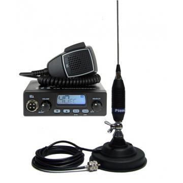 Statie radio + antena + suport baza magnetica 7828 foto