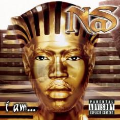 Vand cd NAS-I Am..,original,muzica hip-hop