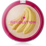 I Heart Revolution Fruity Highlighter Banana Pudra compacta ce ofera luminozitate