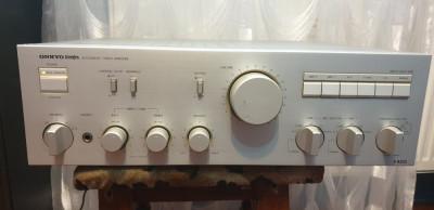 Amplificator Audio Statie Audio Onkyo Integra A-8250 Argintiu foto