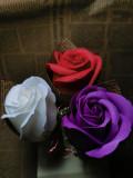 Vând mărțișoare din flori de săpun și tehnica quilling