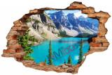 "Sticker ""Wall Crack"" Lake 5 - 120 x 80 cm"