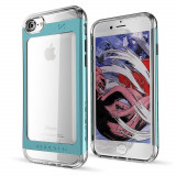 Husa + Folie Sticla Apple iPhone 7,iPhone 8,iPhone SE (2020) - Ghostek Cloak 2 Blue