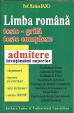 Limba romana teste grila - Mariana Badea ( admitere invatamant superior )