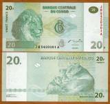 = CONGO - 20 FRANCS - 2003 - UNC   =
