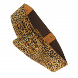 Curea lata, animal print