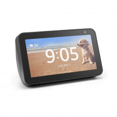 Boxa portabila Echo Show 5 cu ecran si apelare video, negru