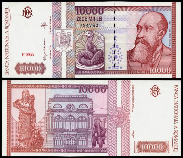 BANCNOTA DE 10000 LEI 1994 UNC NECIRCULATA