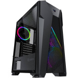 Cumpara ieftin Sistem desktop ITGalaxy Fusion Intel Core i3-9100F Quad Core 3.6 GHz 8GB RAM DDR4 nVidia GeForce GTX 1650 4GB GDDR5 HDD 1TB Free Dos Black