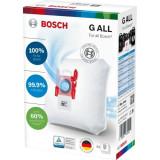 Saci universali Bosch BBZ41FGALL, 4 saci + 1 microfiltru motor, pentru aspiratoare Siemens si Bosch