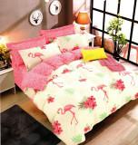 Lenjerie de pat din Bumbac 2 persoane 4 piese HX 03