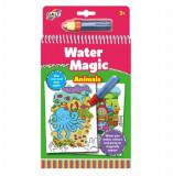 Cumpara ieftin Set Water Magic - Carte de colorat Animalute, Galt