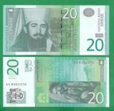 = SERBIA - 20 DINARA – 2006 - UNC    =