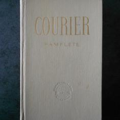 PAUL-LOUIS COURIER - PAMFLETE (1960, editie cartonata)