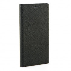 Husa SAMSUNG Galaxy S9 Plus - Leather Bravo TSS, Negru