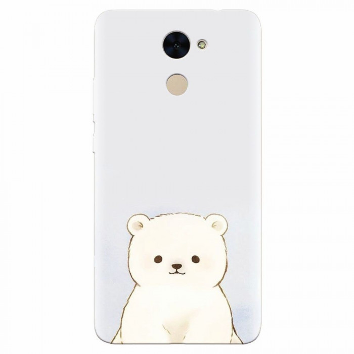 Husa silicon pentru Huawei Y7 Prime 2017, Bear