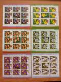 Cumpara ieftin Lot Colite stampilate Romania 2012 - Flora Romaniai - bloc de 8 cu vinieta